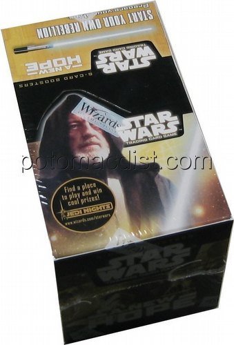 Star Wars Trading Card Game [TCG]: New Hope Booster Box [5 cards/pack]