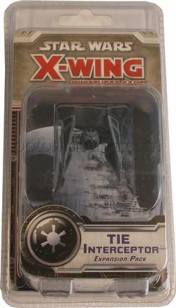 Star Wars X-Wing Miniatures: TIE Interceptor Expansion Pack