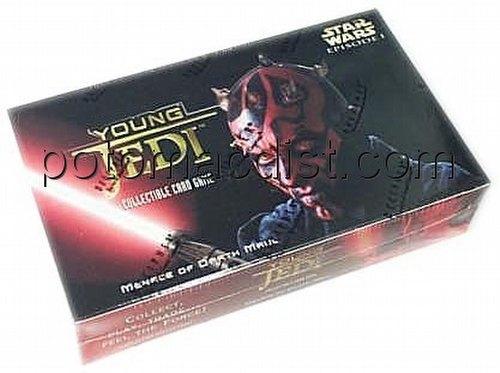Star Wars Young Jedi: Menace of Darth Maul Booster Box