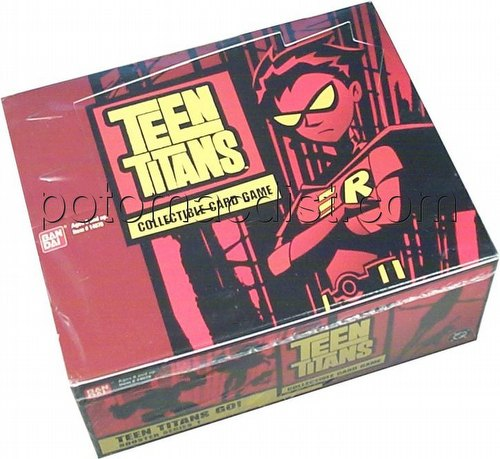 Teen Titans Trading Card Game [TCG]: Go! Booster Box