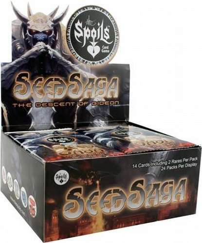 The Spoils TCG: Seed Saga - The Descent of Gideon Booster Case [12 boxes]