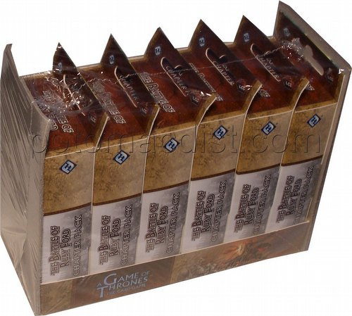 A Game of Thrones: A Clash of Arms - Battle of Ruby Ford Chapter Pack Box[Revised/6 packs]