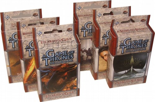 A Game of Thrones: Brotherhood Without Banners Chapter Pack Set [6 Packs/1 of each]