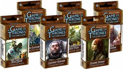 A Game of Thrones: A Clash of Arms Chapter Pack Set [6 Packs/1 of each revised pack]