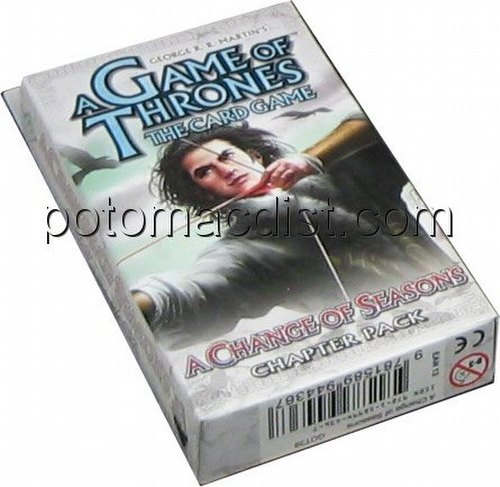 A Game of Thrones: A Time For Ravens - A Change of Seasons Chapter Pack
