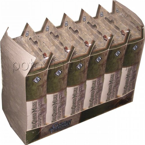 A Game of Thrones: A Tale of Champions - The Grand Melee Chapter Pack Box [6 Packs]