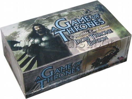 A Game of Thrones: Iron Throne Edition Booster Box