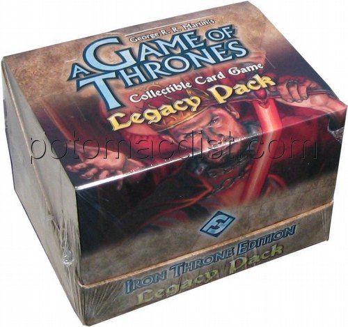 A Game of Thrones: Iron Throne Edition Legacy Pack Starter Deck Box