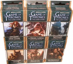 A Game of Thrones: Kingsroad Chapter Pack Set [6 packs/1 of each]
