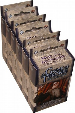 A Game of Thrones: Secrets of Oldtown Cycle - Mask of the Archmaester Chapter Pack Box [6 packs]