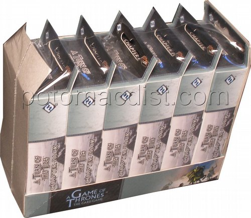 A Game of Thrones: A Song of the Sea - Turn of the Tide Chapter Pack Box [6 packs]
