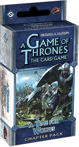 A Game of Thrones: Wardens Cycle - A Time for Wolves Chapter Pack Box [6 packs]