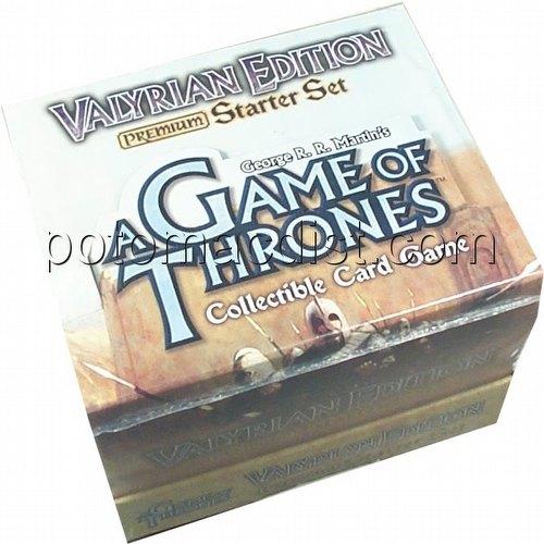 A Game of Thrones: Valyrian Premium Starter Deck Box
