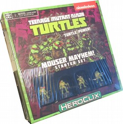 HeroClix: Teenage Mutant Ninja Turtles Mouser Mayhem Starter Set