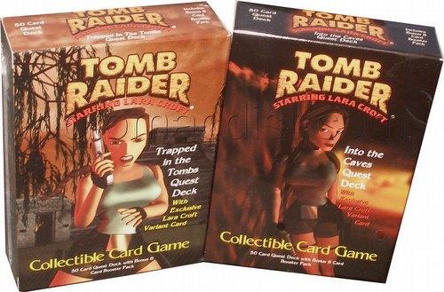 Tomb Raider: Starter Deck Set [2 decks]
