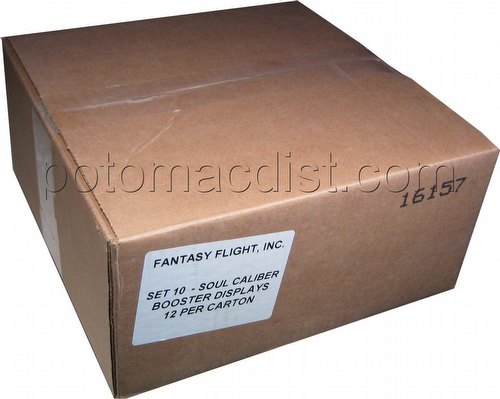 Universal Fighting System [UFS]: Soulcalibur III Flash of the Blades Booster Box Case [12 boxes]