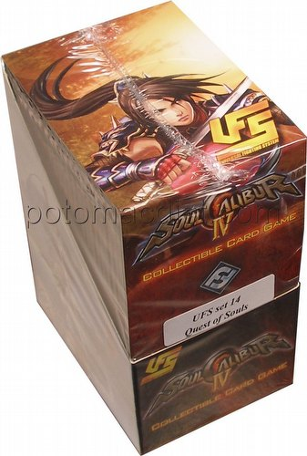 Universal Fighting System [UFS]: Soulcalibur IV Quest of Souls Booster Box