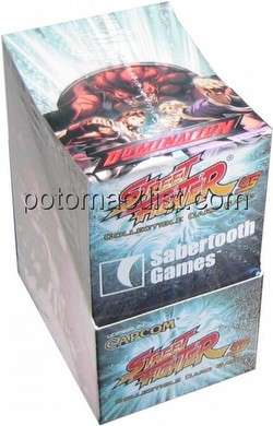 Universal Fighting System [UFS]: Street Fighter Domination Booster Box