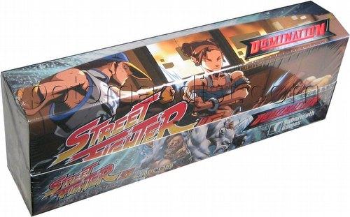 Universal Fighting System [UFS]: Street Fighter Domination Starter Deck Box