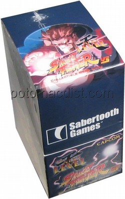 Universal Fighting System: Street Fighter The Next Level Booster Box