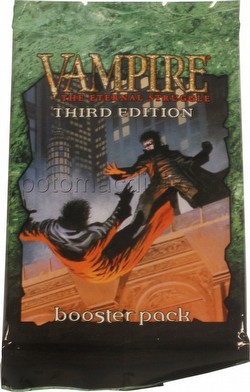 Vampire: The Eternal Struggle CCG Third (3rd) Edition Booster Pack