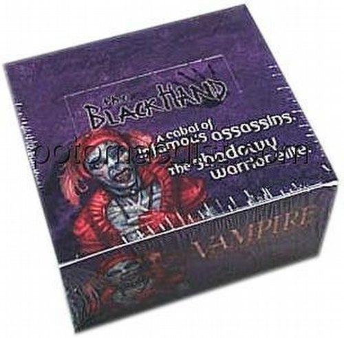 Vampire: The Eternal Struggle CCG Black Hand Booster Box