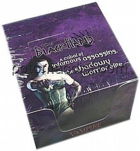 Vampire: The Eternal Struggle CCG Black Hand Preconstructed Starter Deck Box