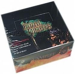 Vampire: The Eternal Struggle CCG Final Nights Booster Box
