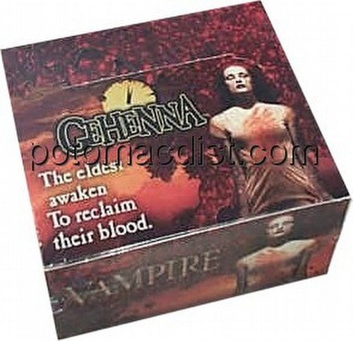 Vampire: The Eternal Struggle CCG Gehenna Booster Box