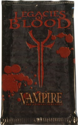 Vampire: The Eternal Struggle CCG Legacies of Blood Booster Pack