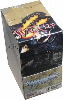 WarCry CCG: Veterans of Battle Booster Box