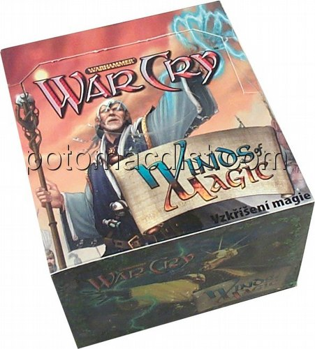 WarCry CCG:  Winds of Magic Booster Box [Czech]