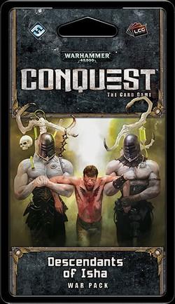 Warhammer 40K Conquest LCG: Warlord Cycle - Descendants of Isha Pack Box [6 packs]