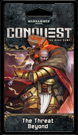 Warhammer 40K Conquest LCG: Warlord Cycle - The Threat Beyond War Pack Box [6 packs]