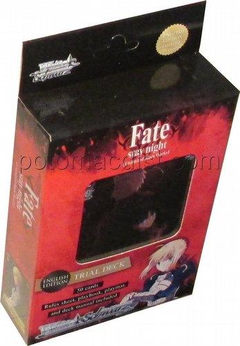 Weiss Schwarz (WeiB Schwarz): Fate/stay night [Unlimited Blade Works] Trial Deck [English]
