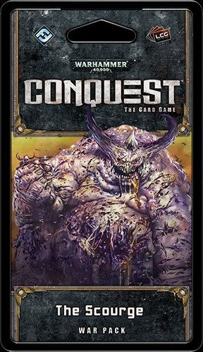 Warhammer 40K Conquest LCG: Warlord Cycle - The Scourge War Pack Box [6 packs]
