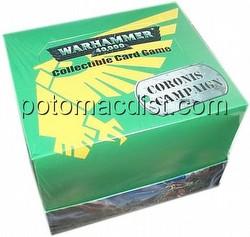 Warhammer 40K CCG: Coronis Starter Deck Box
