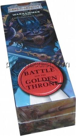 Warhammer 40K CCG: Horus Heresy Battle for the Golden Throne 2-Player Set