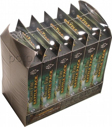 Warhammer Invasion LCG: The Corruption Cycle - Arcane Fire Battle Pack Box [6 Packs]