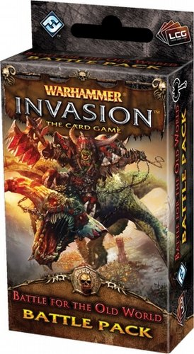 Warhammer Invasion LCG: The Eternal War Cycle - Battle for the Old World Battle Pack Box [6 packs]