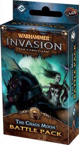 Warhammer Invasion LCG: The Morrslieb Cycle - The Chaos Moon Battle Pack Box [6 packs]