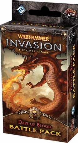 Warhammer Invasion LCG: The Eternal War Cycle - Days of Blood Battle Pack Box [6 packs]