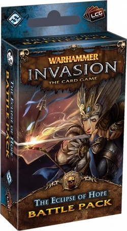 Warhammer Invasion LCG: The Morrslieb Cycle - The Eclipse of Hope Battle Pack Box [6 packs]