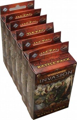 Warhammer Invasion LCG: The Enemy Cycle - Fall of Karak Grimaz Battle Pack Box [6 Packs]