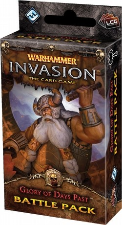 Warhammer Invasion LCG: The Eternal War Cycle - Glory of Days Past Battle Pack Box [6 packs]