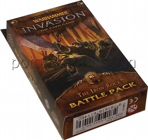 Warhammer Invasion LCG: The Capital Cycle - The Iron Rock Battle Pack