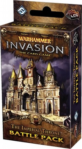 Warhammer Invasion LCG: The Capital Cycle - The Imperial Throne Battle Pack Box [6 packs]
