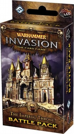 Warhammer Invasion LCG: The Capital Cycle - The Imperial Throne Battle Pack