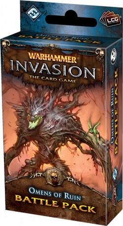 Warhammer Invasion LCG: The Morrslieb Cycle - Omens of Ruin Battle Pack Box [6 packs]
