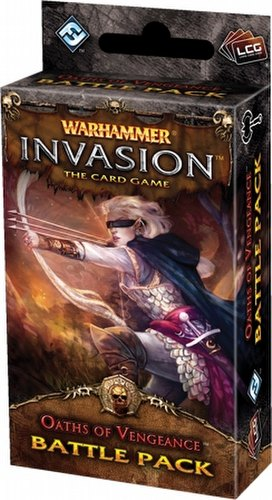 Warhammer Invasion LCG: The Eternal War Cycle - Oaths of Vengeance Battle Pack Box [6 packs]